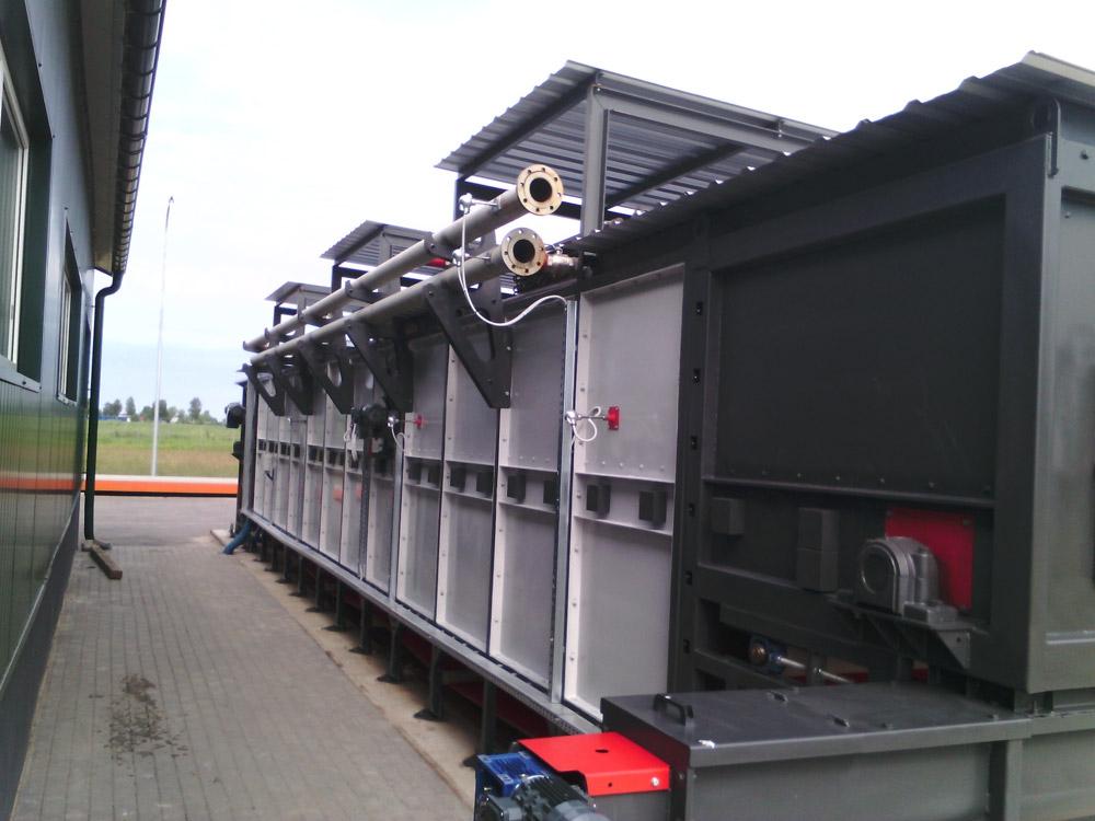 Uruchomienie szóstej suszarni taśmowej przy BIOGAZOWNI o mocy 1000kW