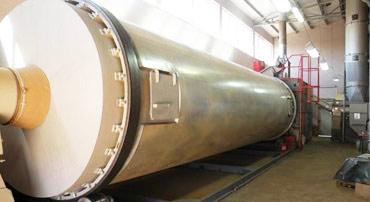 Uruchomienie suszarni bębnowej do suszenia skórki pomarańczy w Turcji o wydajności do 2500kg/h
